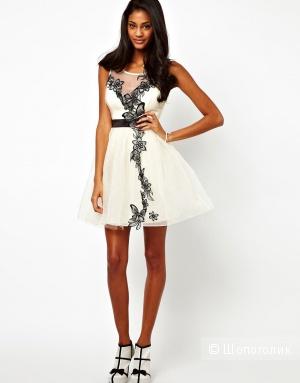 Платье с бабочками Lipsy VIP Tutu Новое UK6