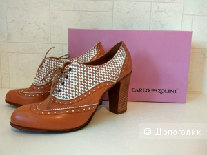 Ботиночки Carlo Pazolini нат.кожа новые 38 разм.