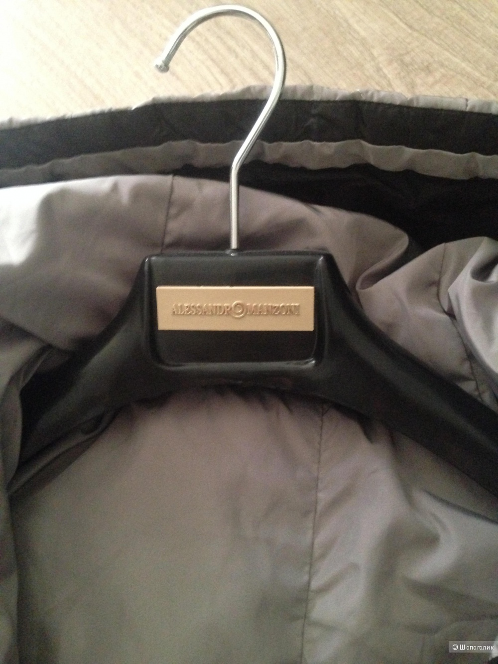 Пальто двустороннее от Alessandro Manzoni, размер 46