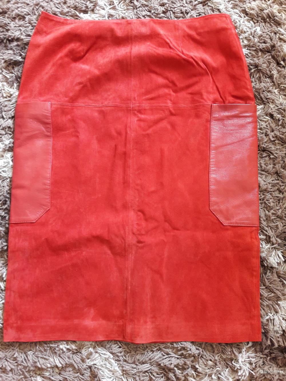 Кожаная юбка Asos 46 размер