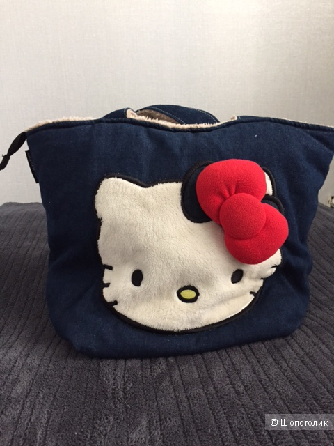 Джинсовая сумка Hello Kitty