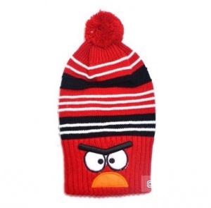 Новая детская шапка Angry Birds, 9-12мес