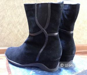 Замшевые ботинки Акватерм от Саниты р.39.5