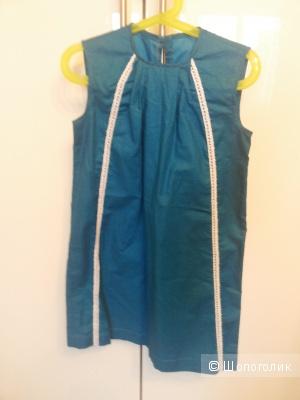 Платье для девочки 7-8 лет сшито на заказ