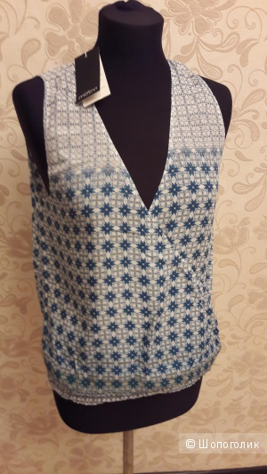 Motivi: блузка с запАхом.
