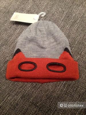 Новая детская шапка Zara kids, 12-24мес