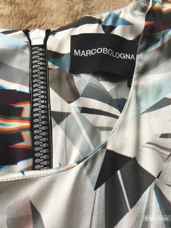 Шелковая блузка MARCO BOLOGNA.