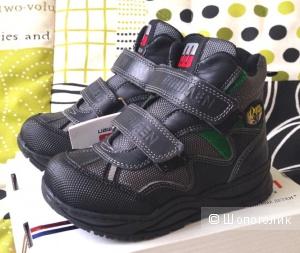 Новые демисезонные ботинки Minimen р.25 (16,5 см)