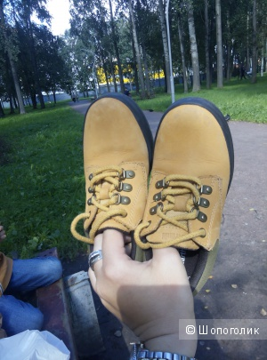Ботинки детские Timberland,размер  US 13, EU 31