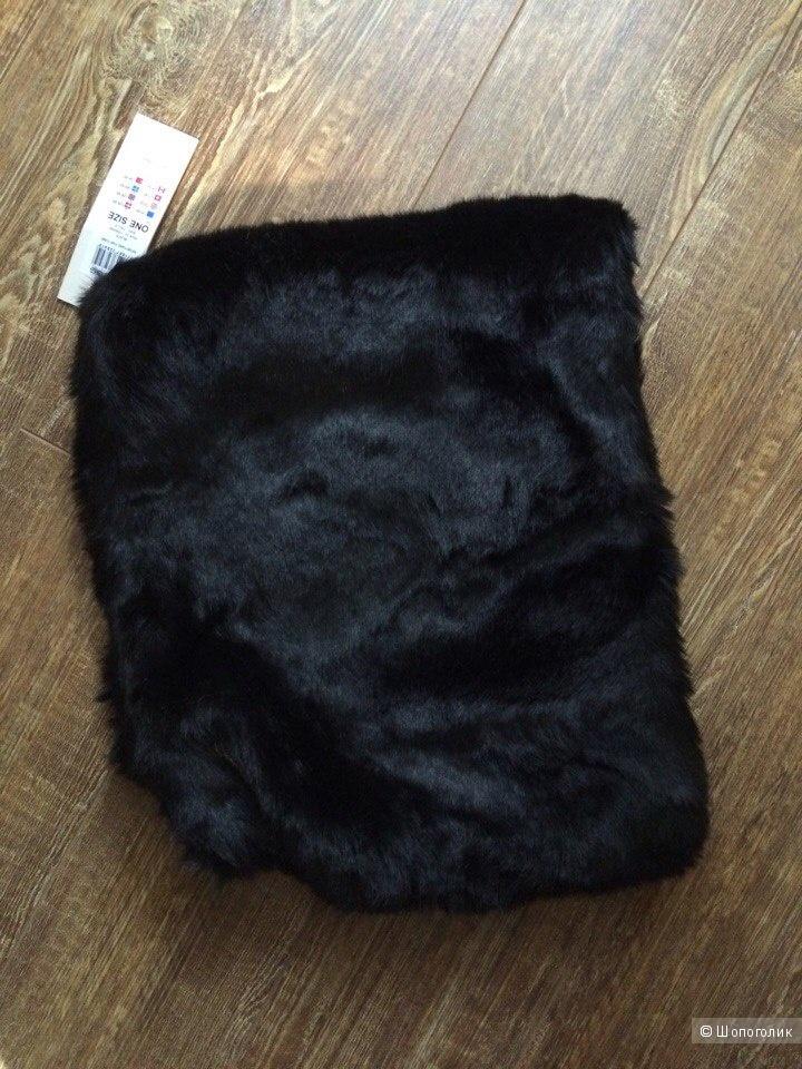 Меховой шарф-туба Pieces