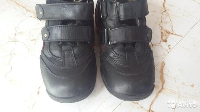 Кожаные зимние ботинки Ortopedia 34 размер