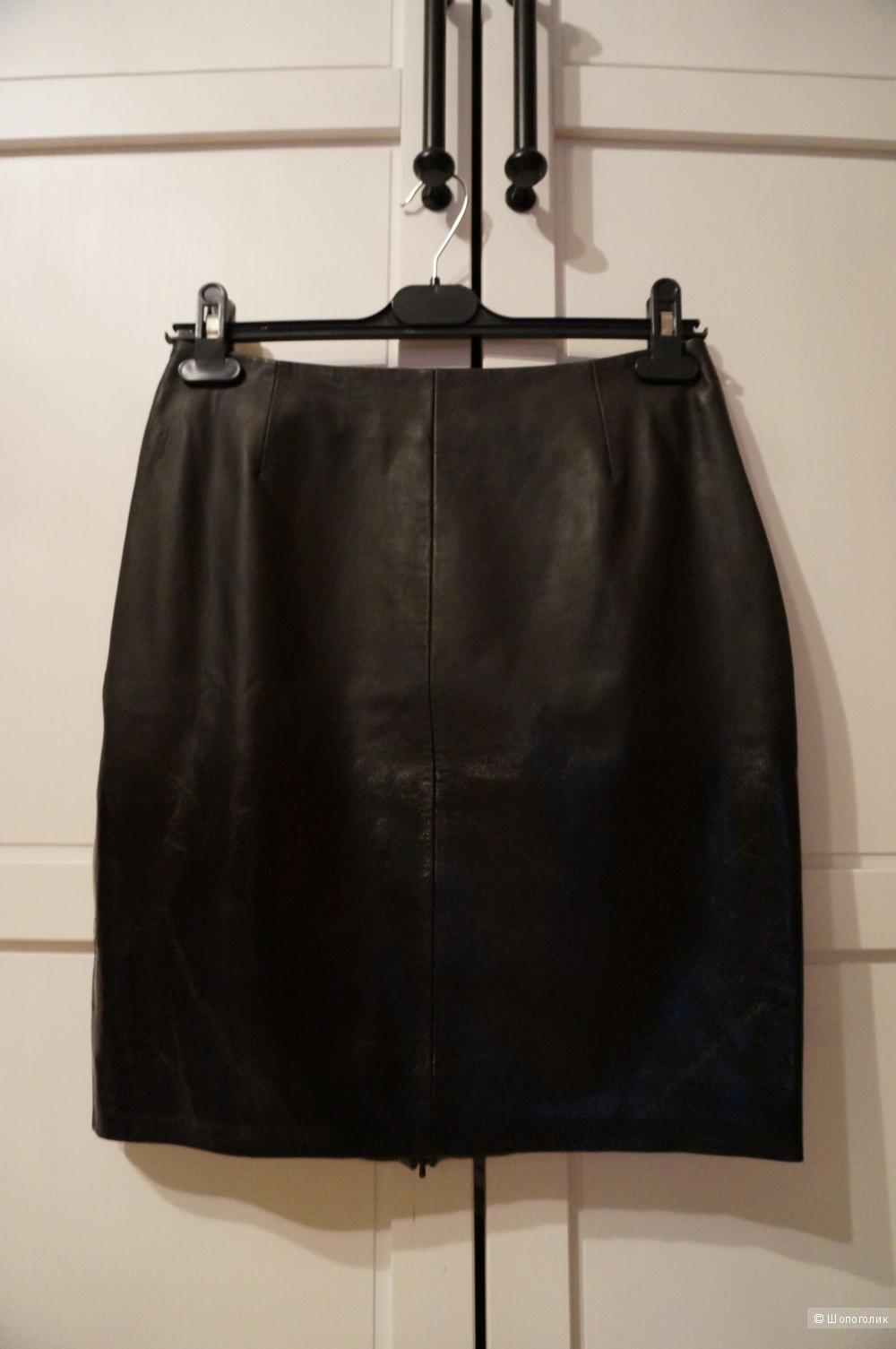 Кожаная юбка Muubaa Chessel