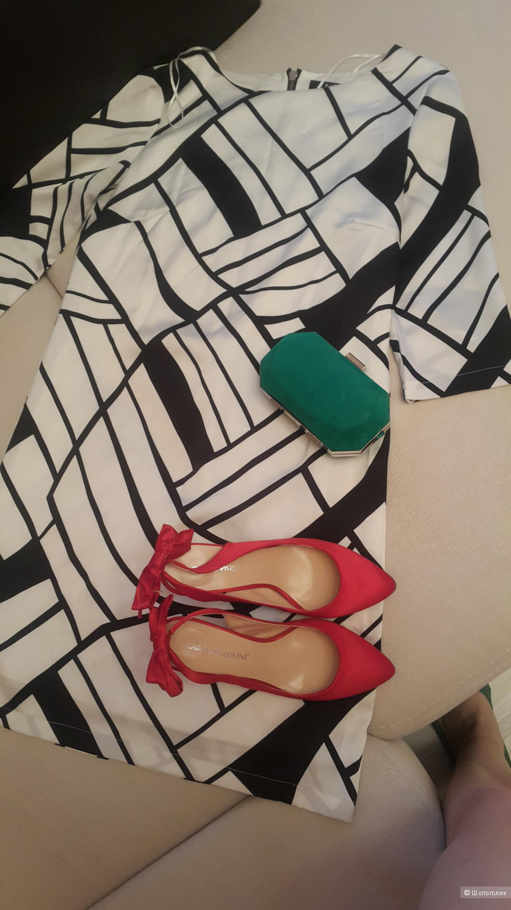 Красные туфли 37 р. Carlo Pazolini
