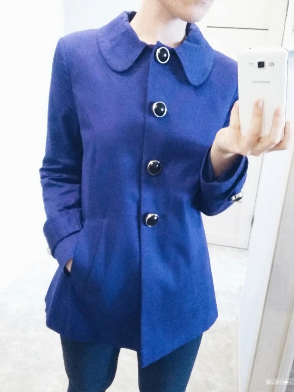 Расклешенное пальто asos.