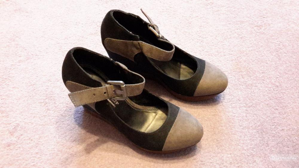 Туфли MARCO TOZZI р.38, но маломерят на размер