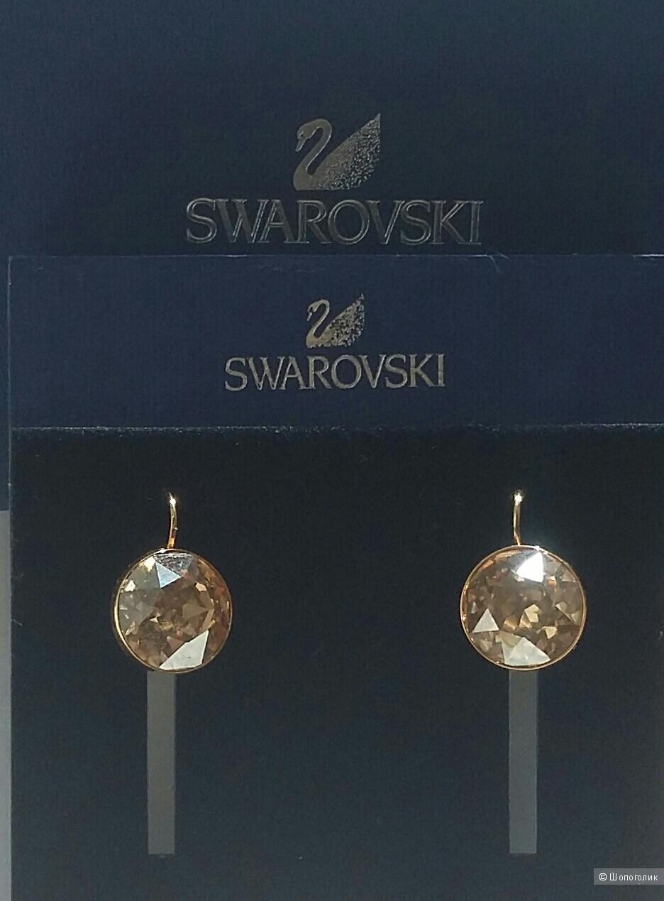 Продам серьги Swarovski Bella