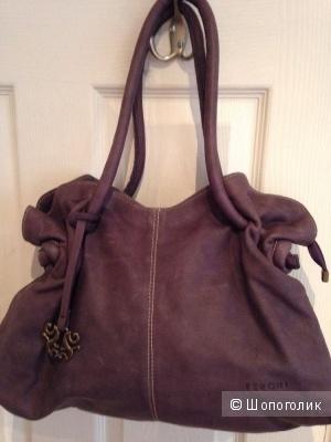 Новая кожаная сумка. Испания.