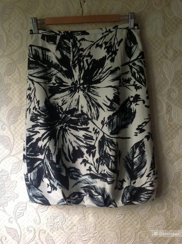Marc Aurel шелковая юбка 42-44