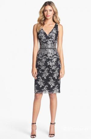 шикарное платье в кружеве от David Meister с ценником 520$ р.44