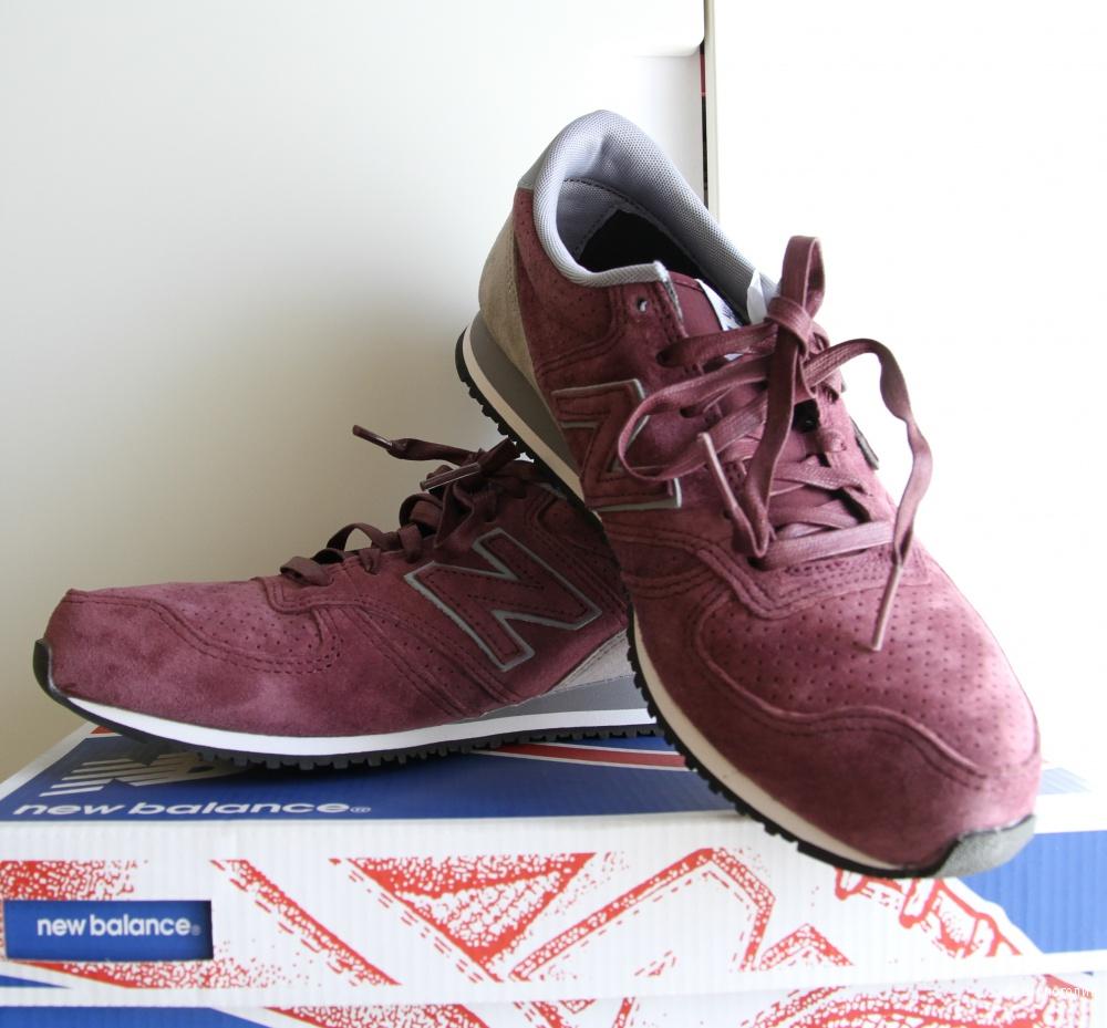 Новые замшевые кроссовки New Balance 420 унисекс 7US/6,5UK/40EU