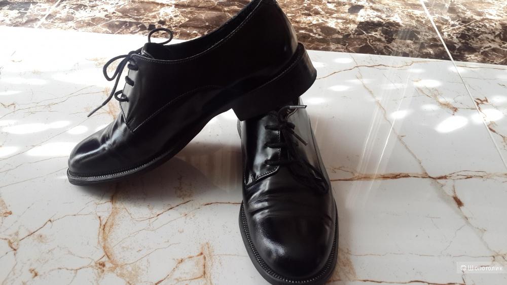 Туфли немецкого бренда Zign натуральная кожа