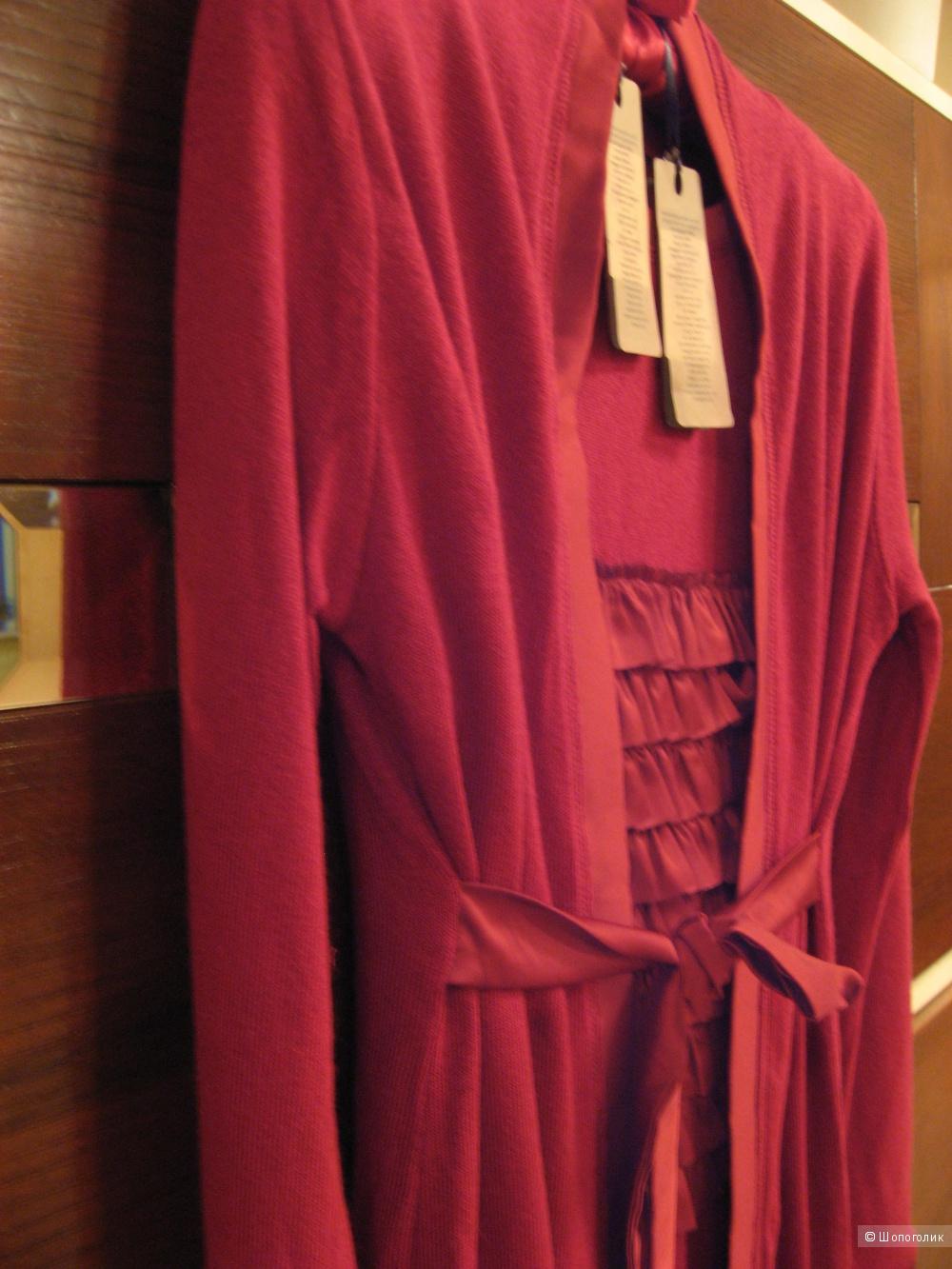 Платье с кардиганом фирмы Tuwe, Италия на 42-44р-р