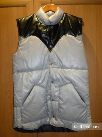 Новый жилет UNKLE, серый, теплый размер XL