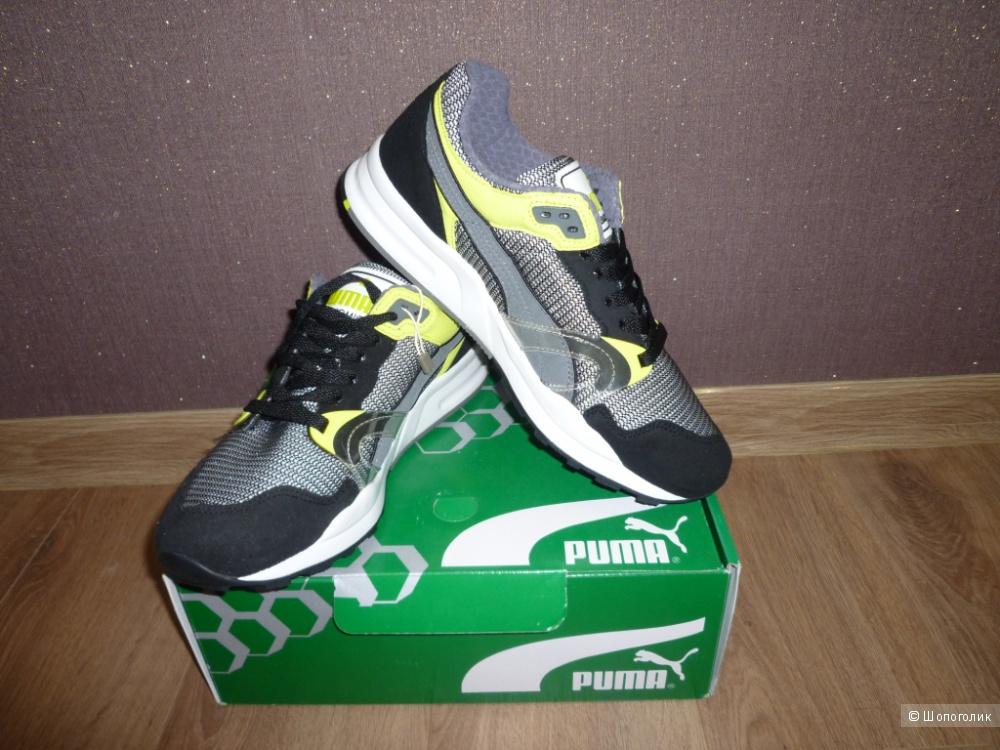 Новые мужские кроссовки Puma серые, EUR42