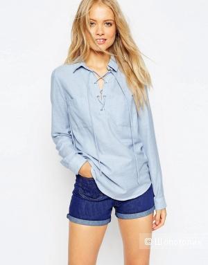 Модная рубашка со шнуровкой ASOS