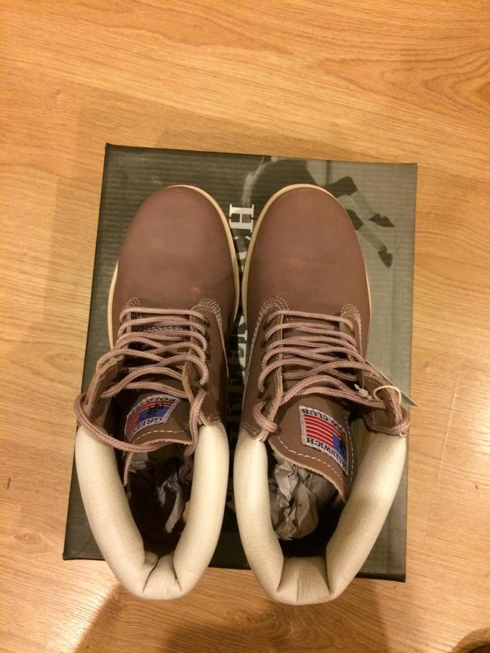 Новые ботинки Greenwich Polo Club (39EU)