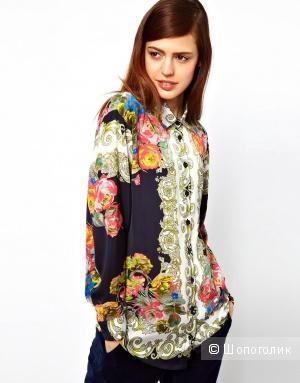 Цветочная рубашка барокко Asos