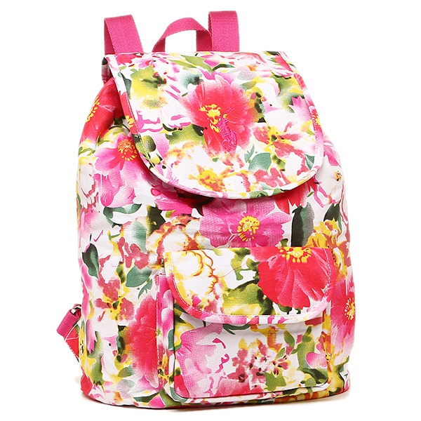 Миленький рюкзак Ralph Lauren FLORAL BACKPACK