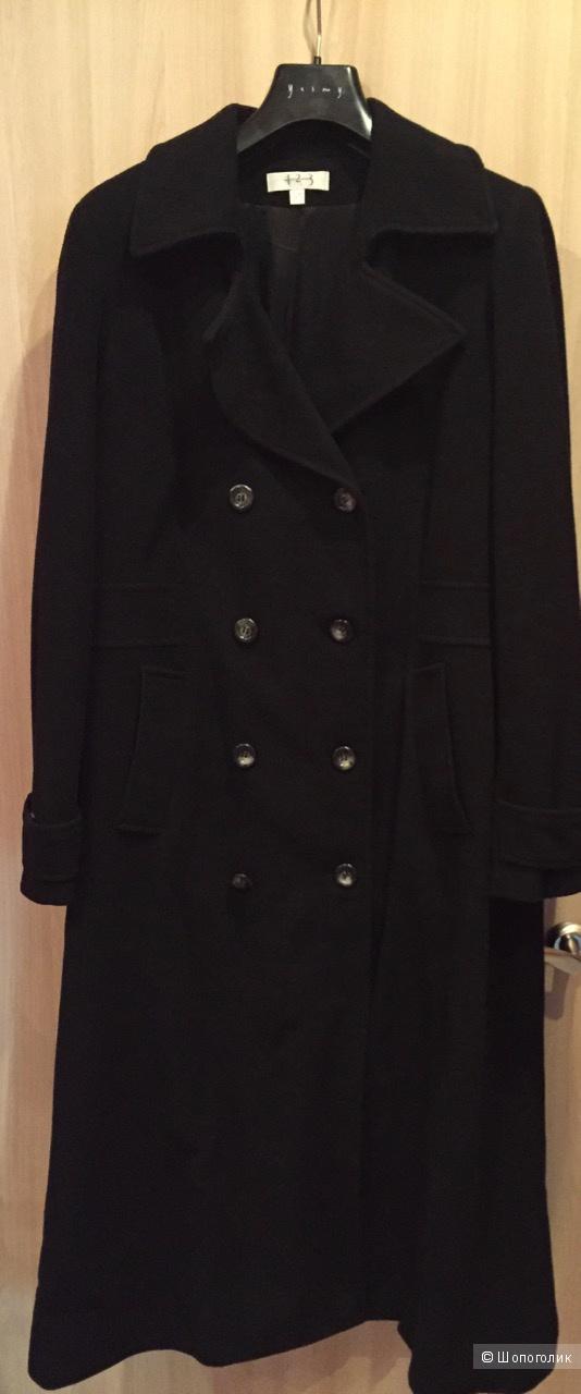 Двубортное шерстяное пальто 1-2-3 Paris (44 размер)