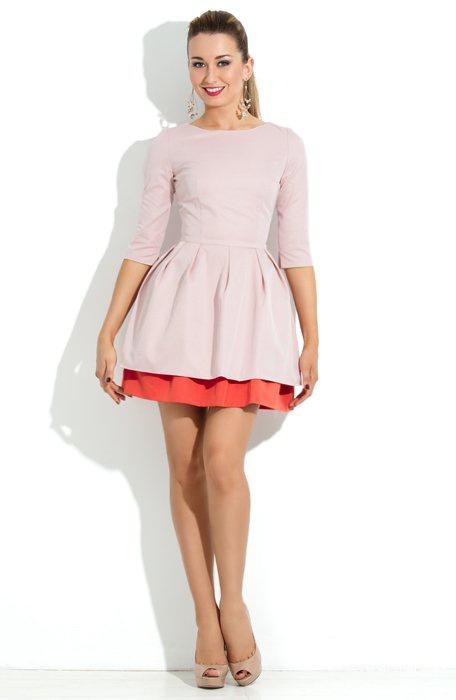 """Коктейльное платье московской дизайнерской фирмы """"Donna Saggia""""."""