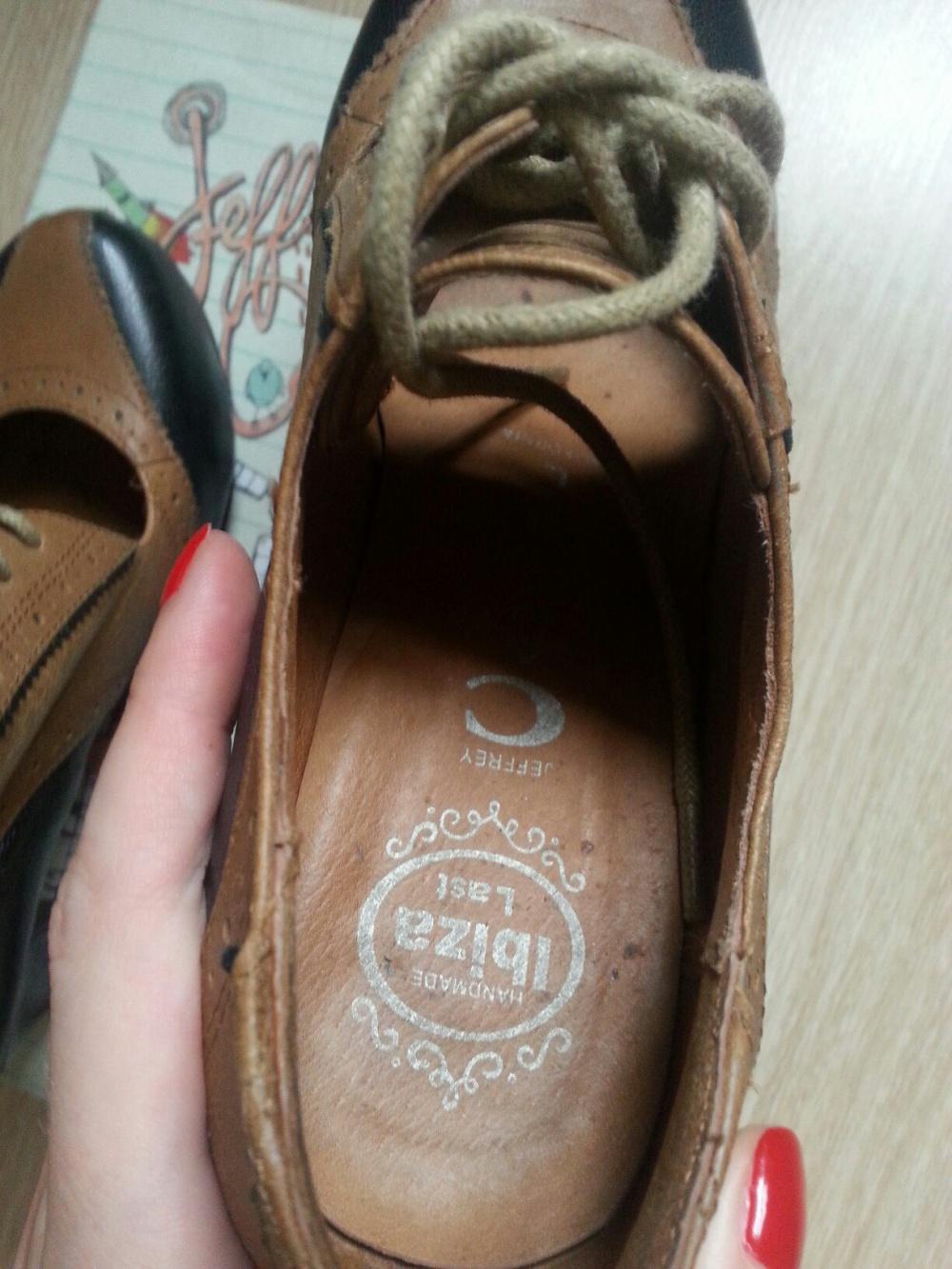 Ботинки Jeffrey Campbell  размер US 6, российский 35, длина по стельке 22,5 см.