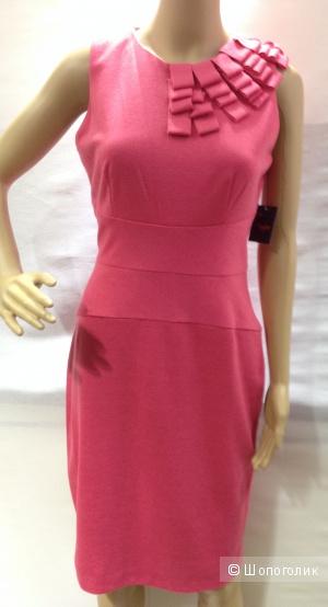 TAYLOR красивое офисное трикотажное платье по фигуре р.44