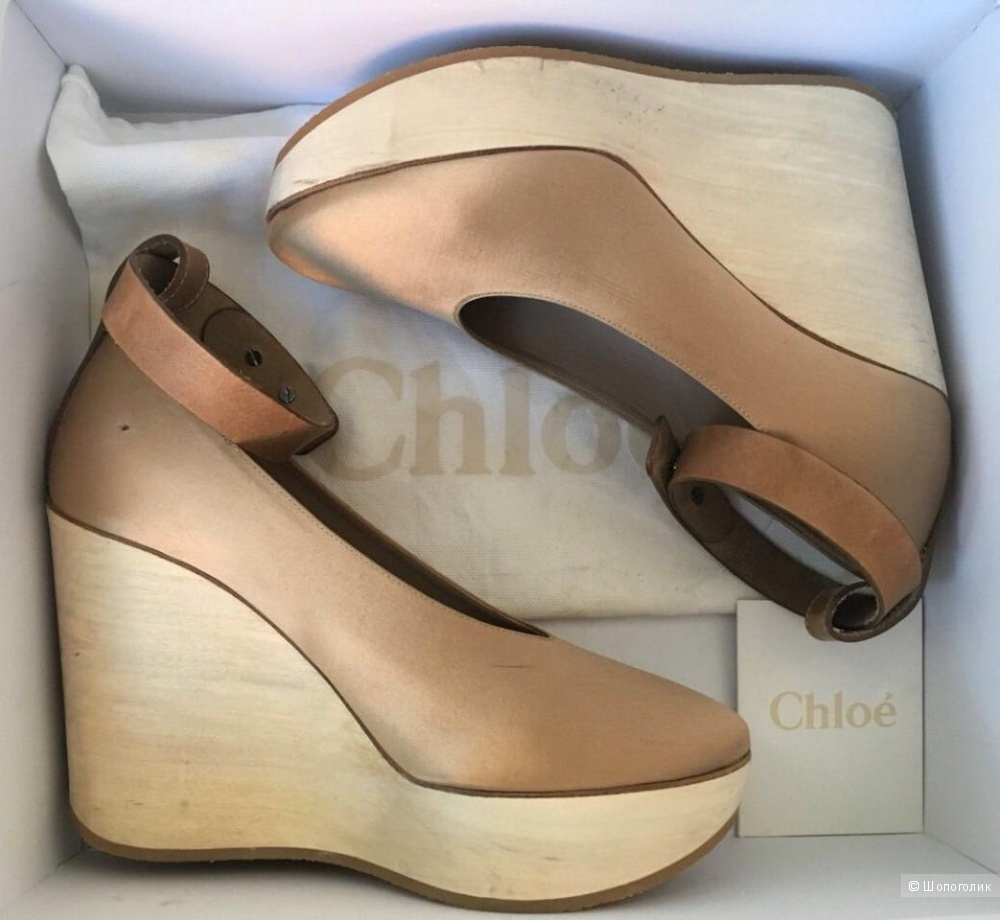 Пристрою туфли Chloe, оригинал
