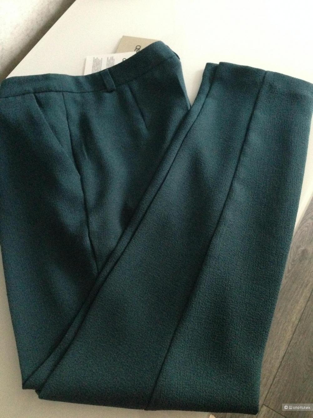 Укороченные креповые брюки-сигареты ASOS (eur 36 / uk 8)