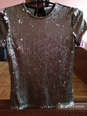 Нарядная дизайнерская блузка. Размер S