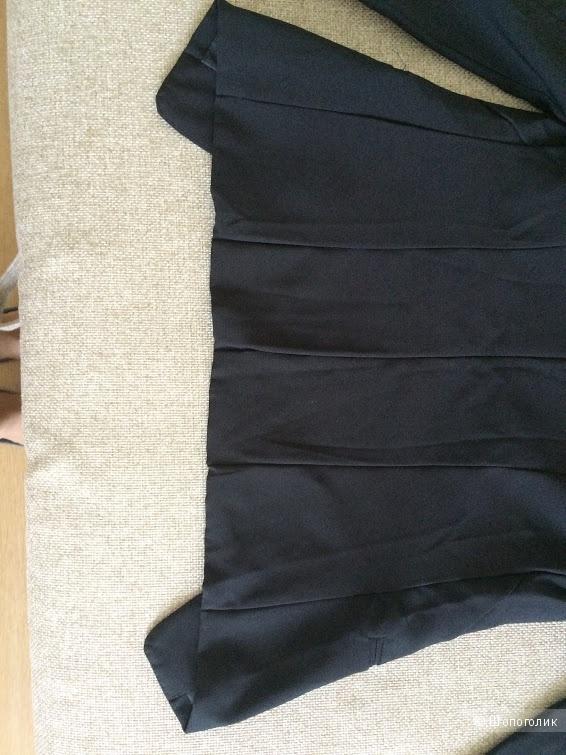 Классический жакет черного цвета размер S