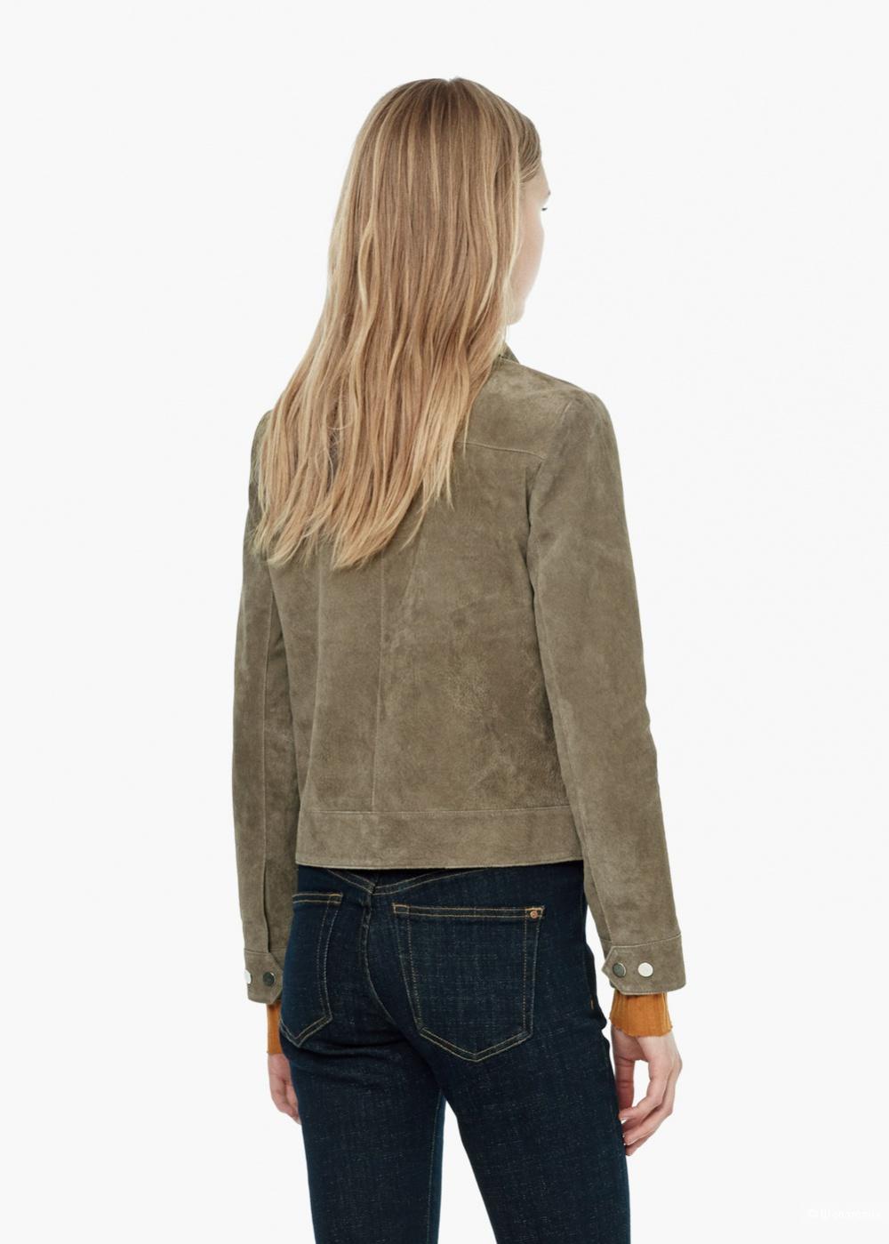 Новая замшевая куртка Mango размер М