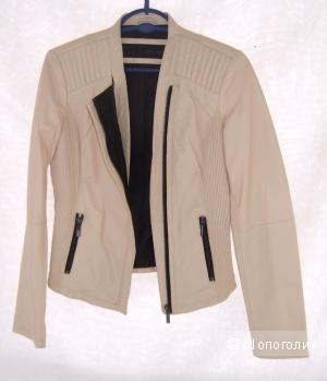 Куртка Zara натуральная кожа
