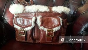 Сумка брендовая Coach оригинал натуральная кожа