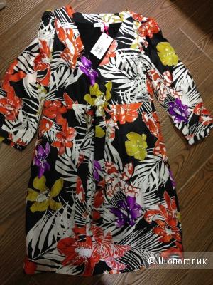 Платье Chloe из натурального твилового шелка р.44 Новое.Оригинал