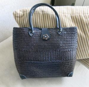 Соломенная сумка новая