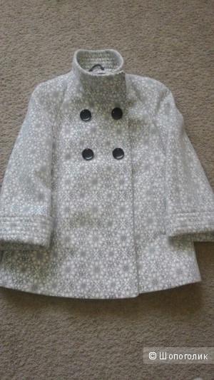 Пальто ariadna (100% шерсть без синтетики). Размер 44