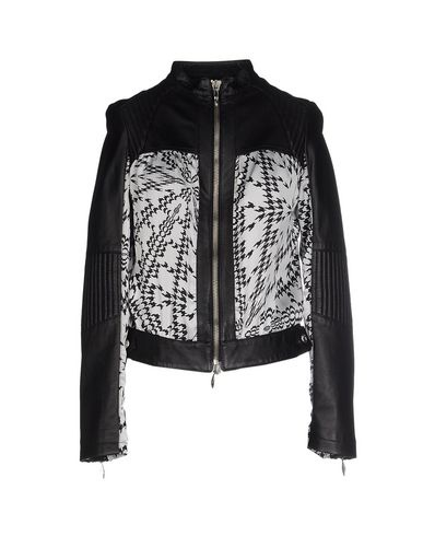 Новая кожаная комбинированная куртка Byblos 44 итальянского размера (46 русский)