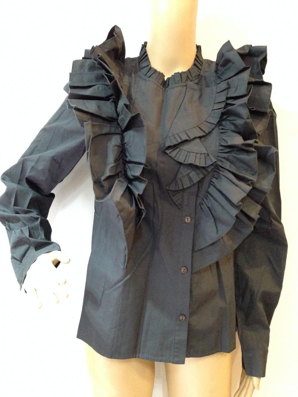 Шикарная брендовая блузка-рубашка от Chloe р.44
