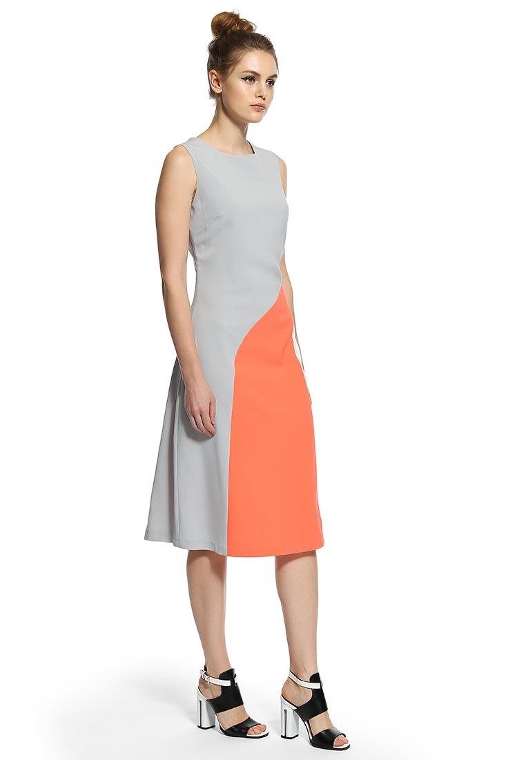 LOST Ink трёхцветное платье BELLA BLOCKED, uk10