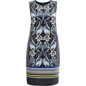 Monsoon летнее синее платье Tallulah, uk8